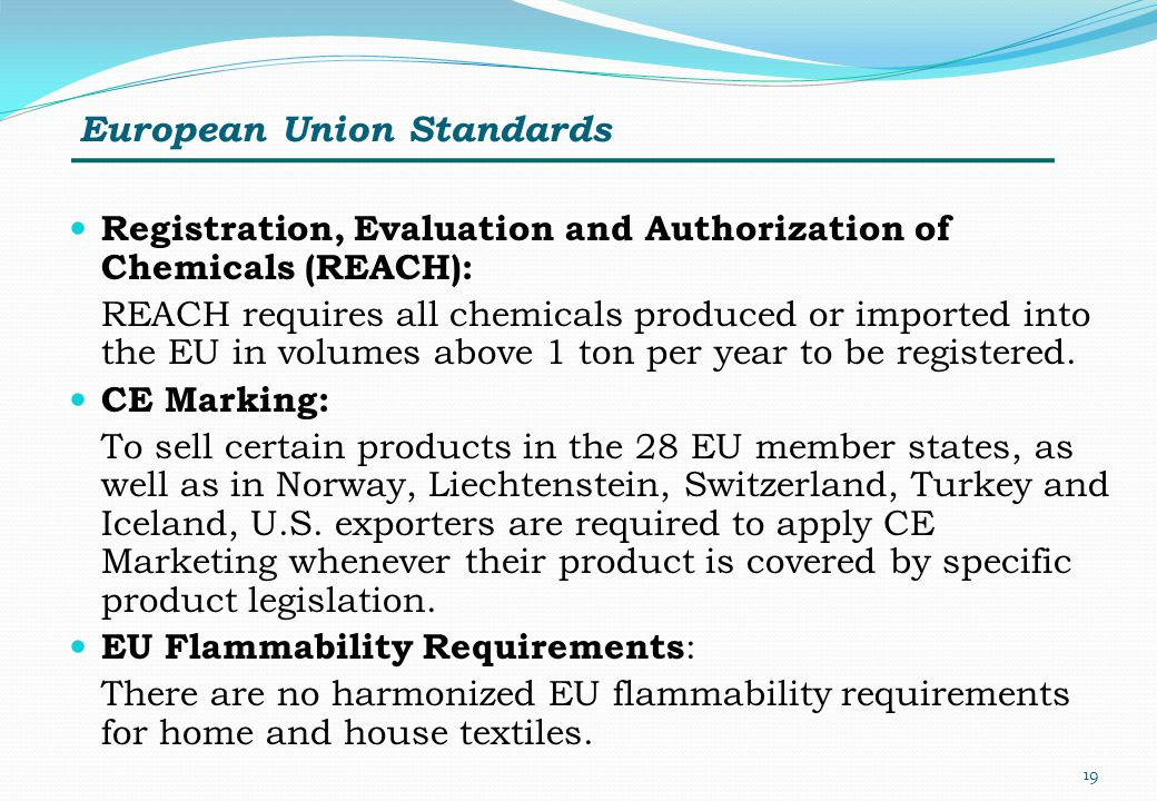 European Union Standards