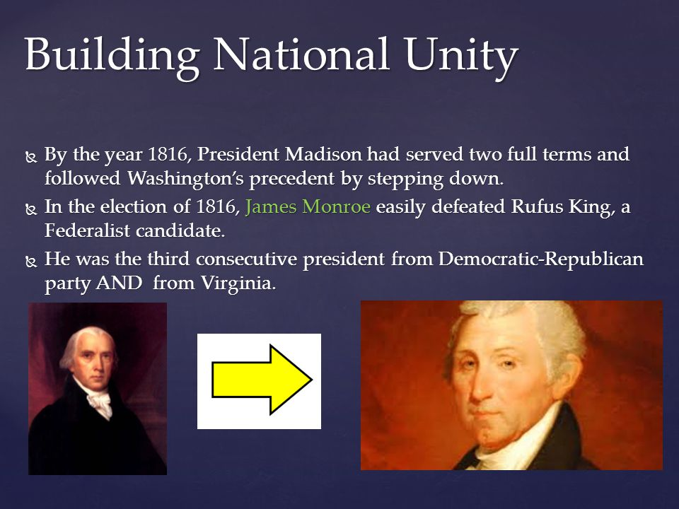 Building National Unity