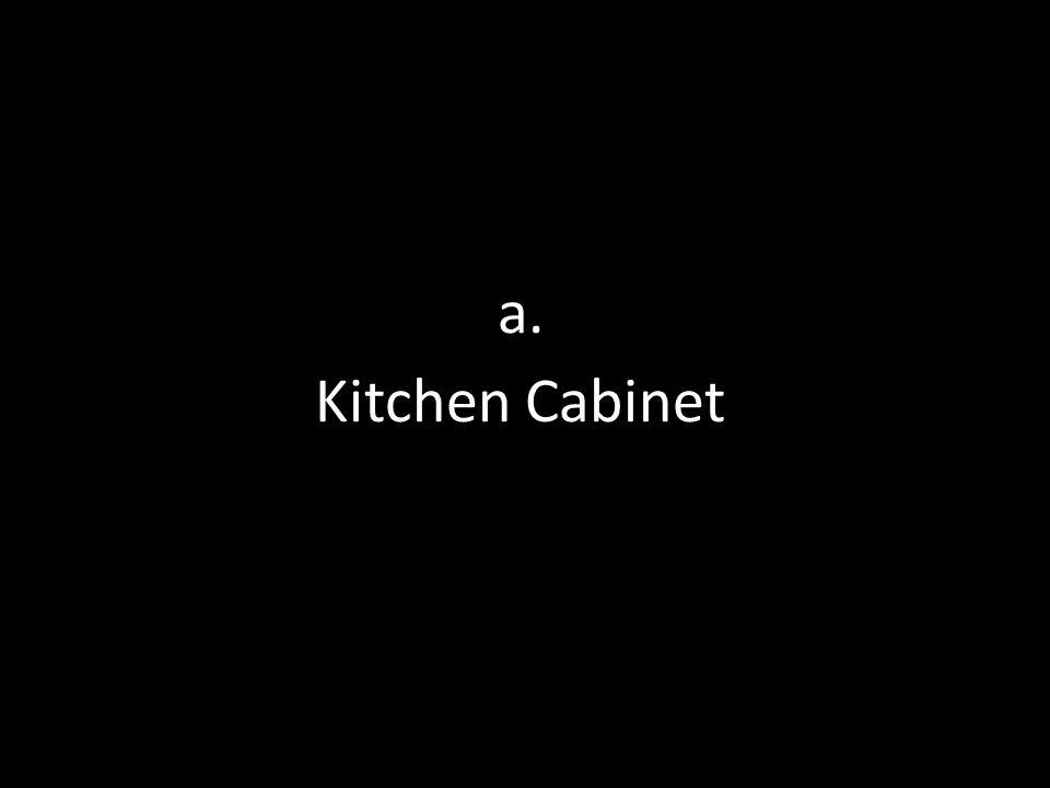 a. Kitchen Cabinet