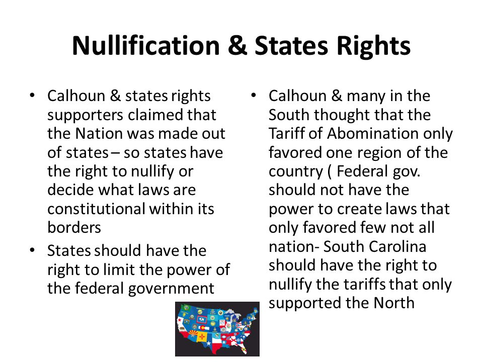 Nullification & States Rights