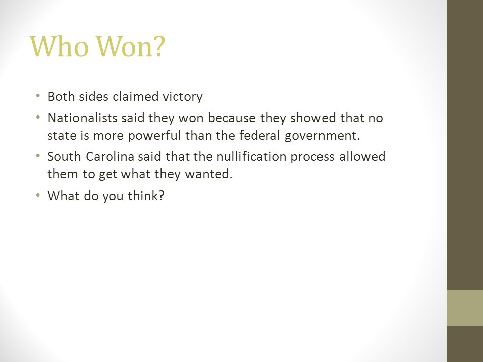 Who Won Both sides claimed victory