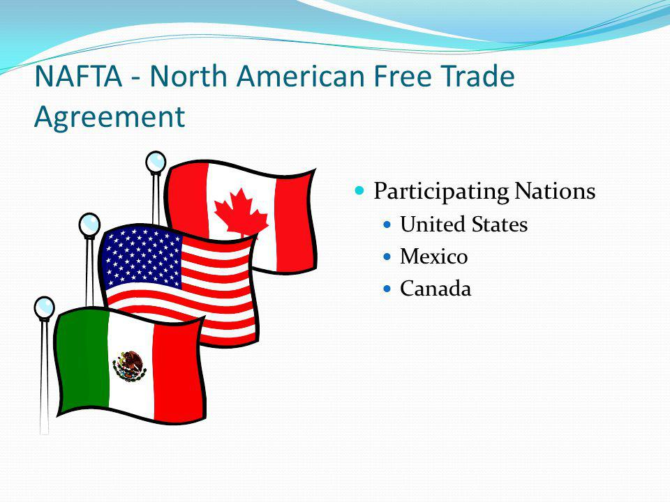 A Discussion On The Free Trade Agreement Between Canada And The