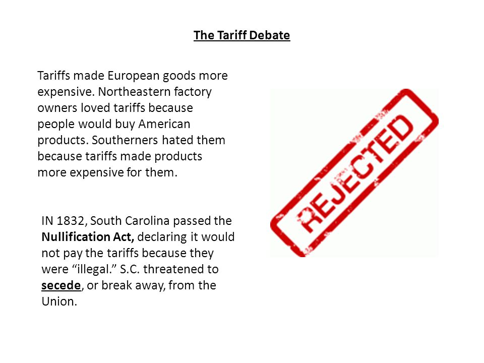 The Tariff Debate