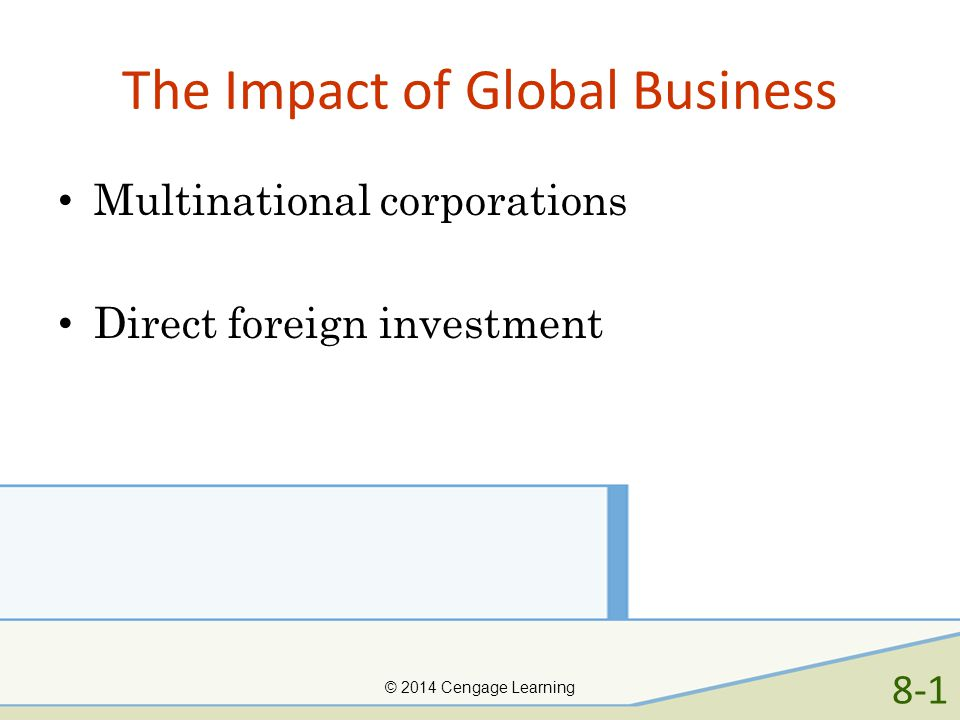 The Impact of Global Business