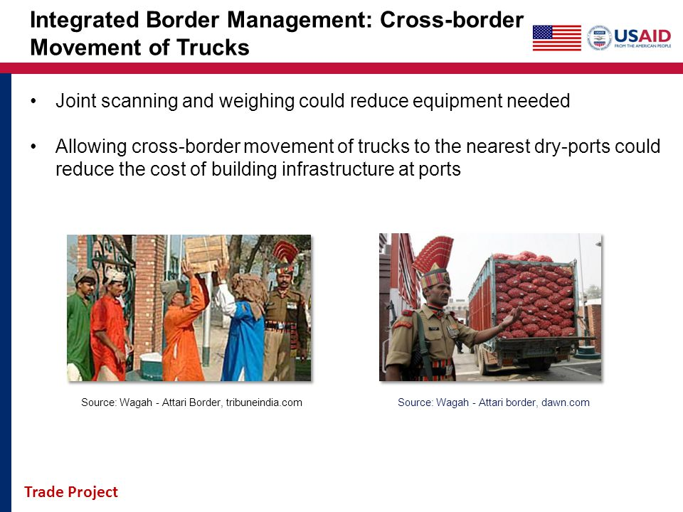 Integrated Border Management: Cross-border Movement of Trucks