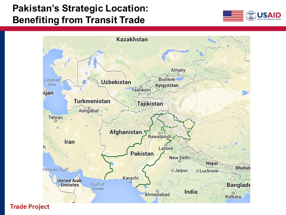Pakistan's Strategic Location: Benefiting from Transit Trade