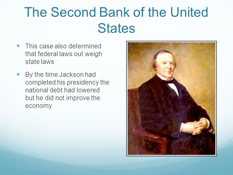 The Second Bank of the United States