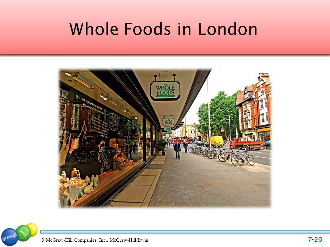 Whole Foods in London