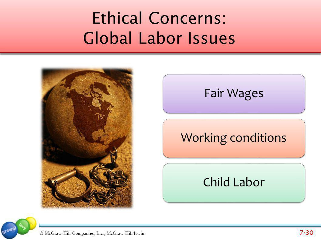 Ethical Concerns: Global Labor Issues