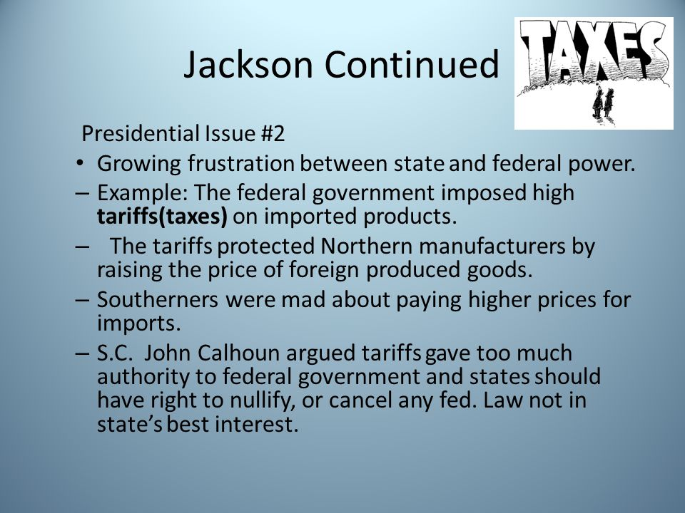 Jackson Continued Presidential Issue #2