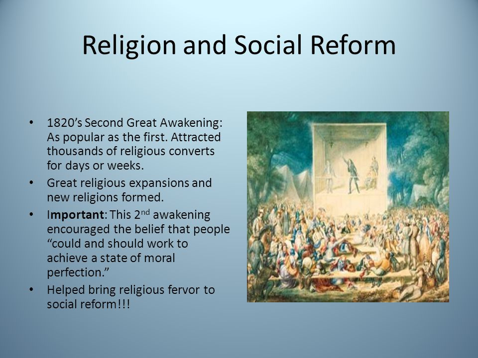 Religion and Social Reform