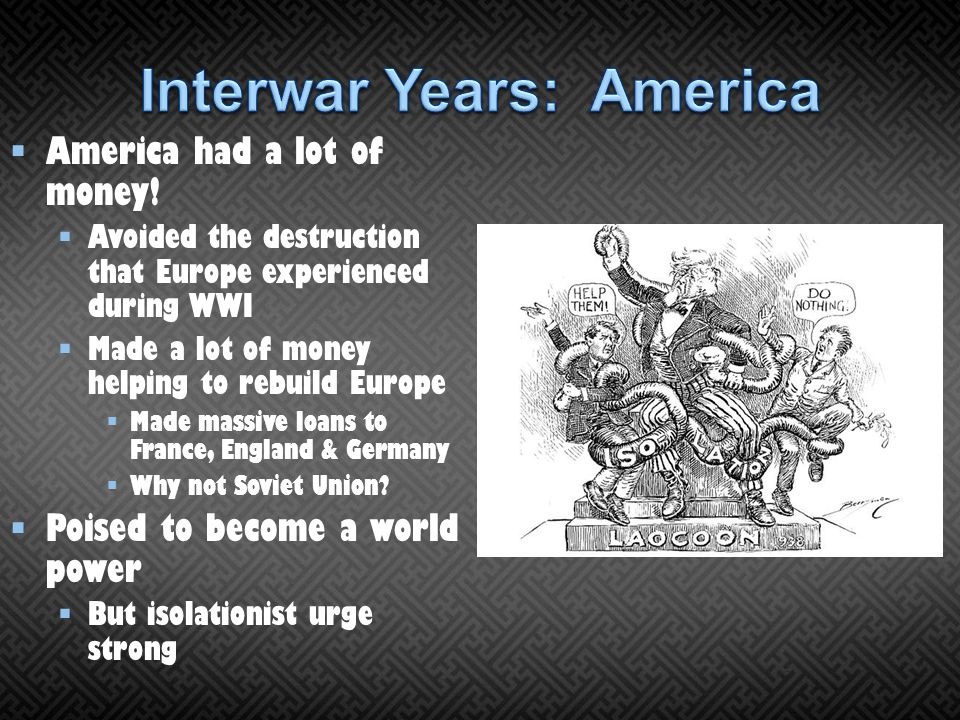 Interwar Years: America