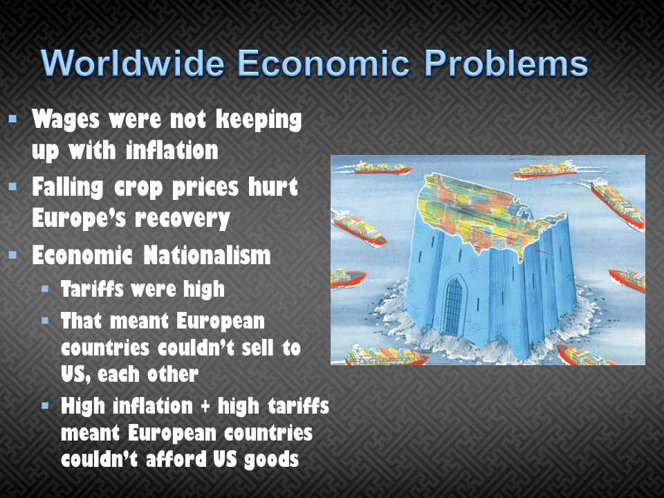 Worldwide Economic Problems