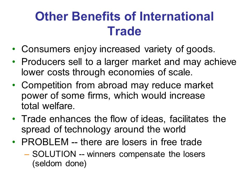 Effects of Trade Protection