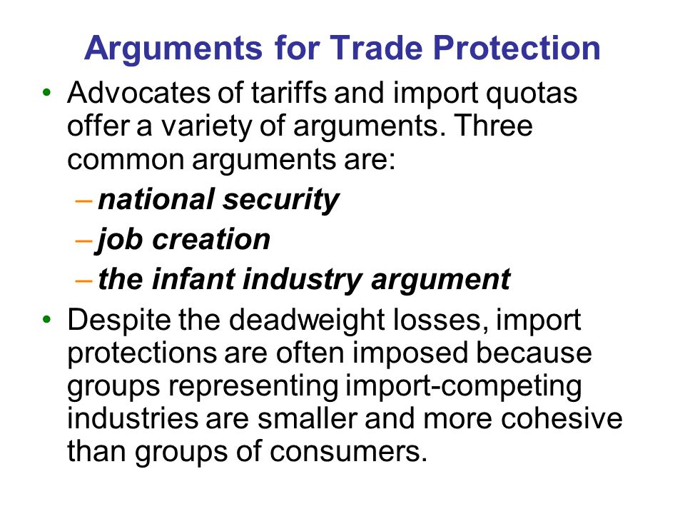 Trade Agreements A country can liberalize trade with