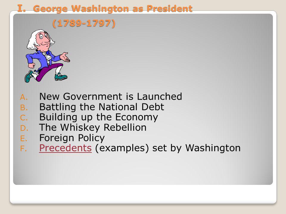 I. George Washington as President (1789-1797)