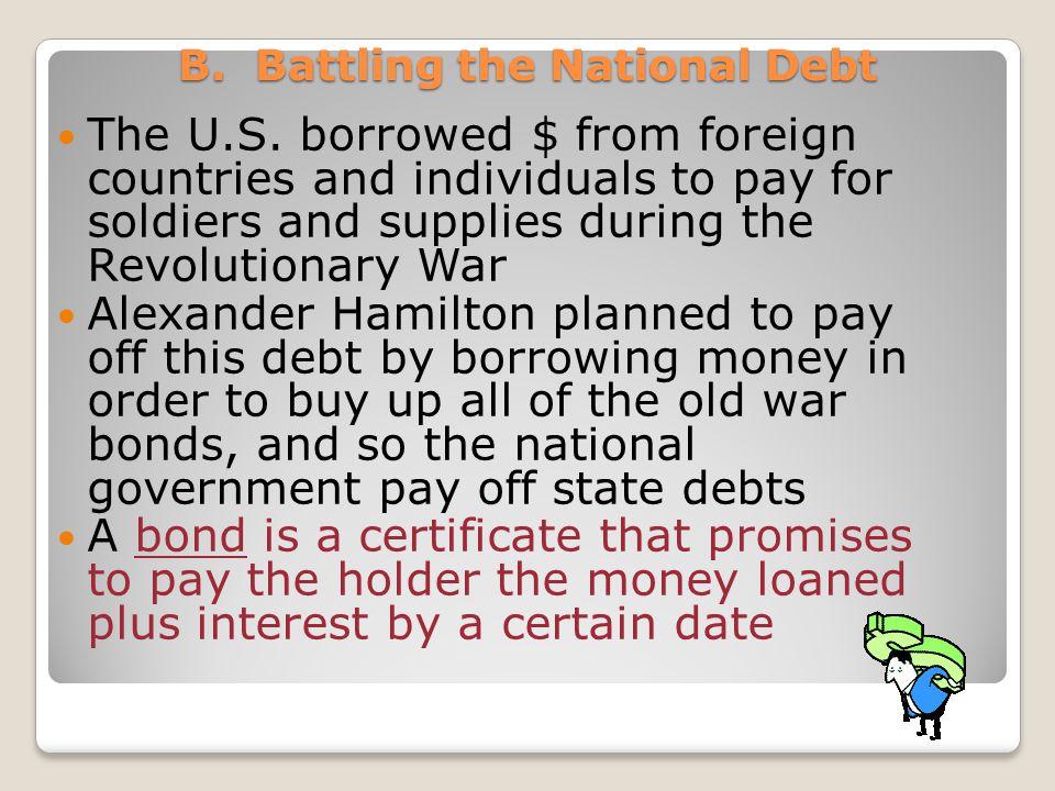 B. Battling the National Debt