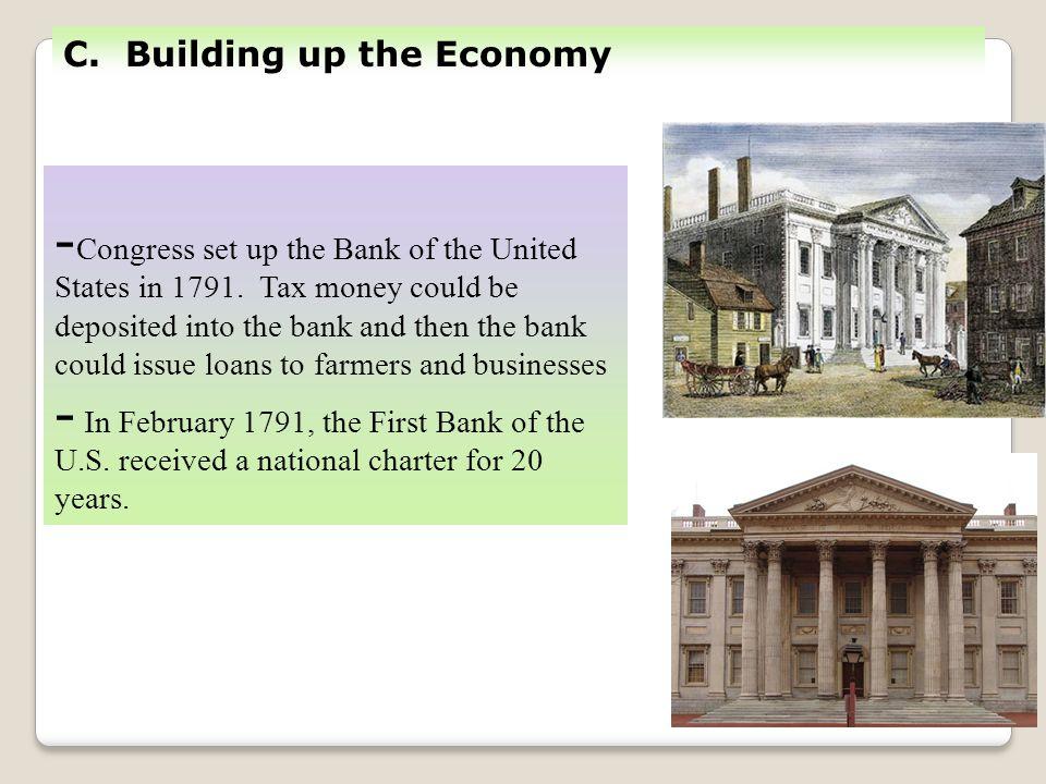C. Building up the Economy