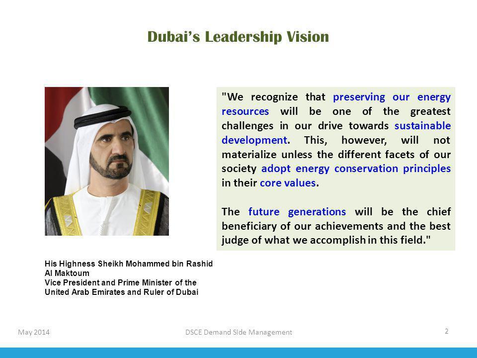 Dubai's Leadership Vision