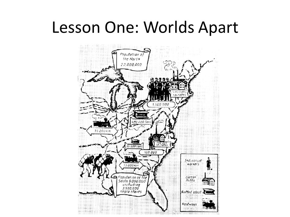 Lesson One: Worlds Apart