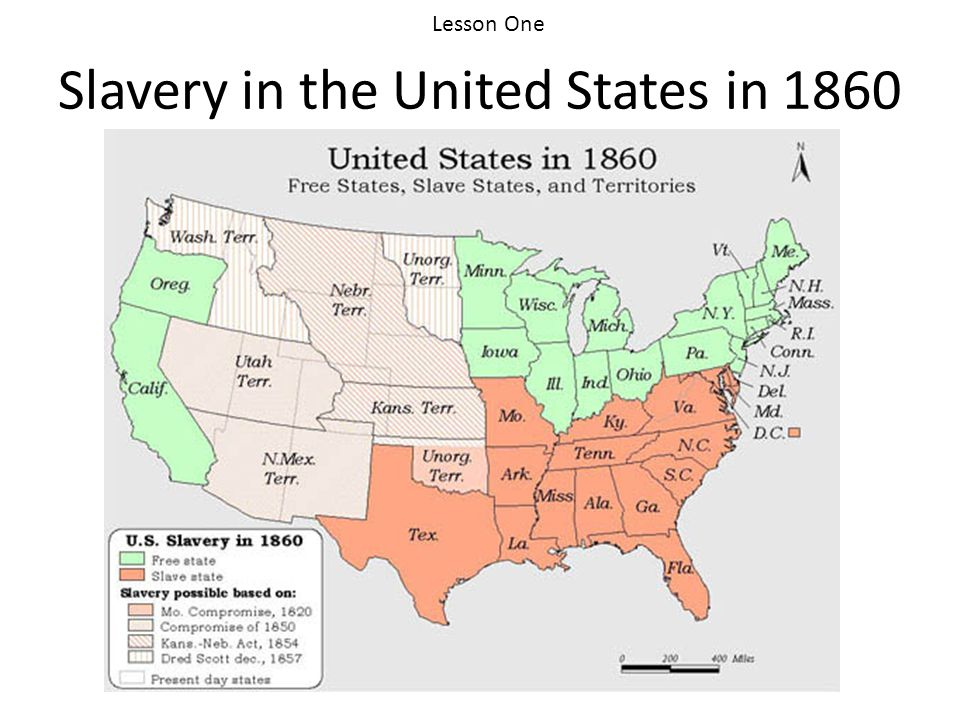 Slavery in the United States in 1860