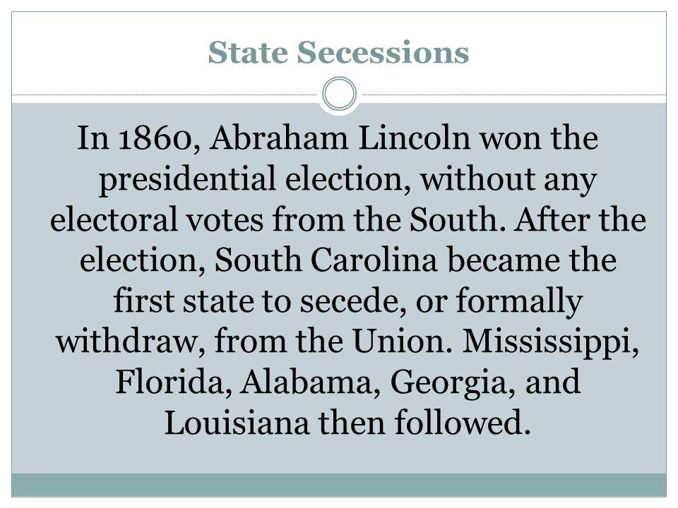 State Secessions
