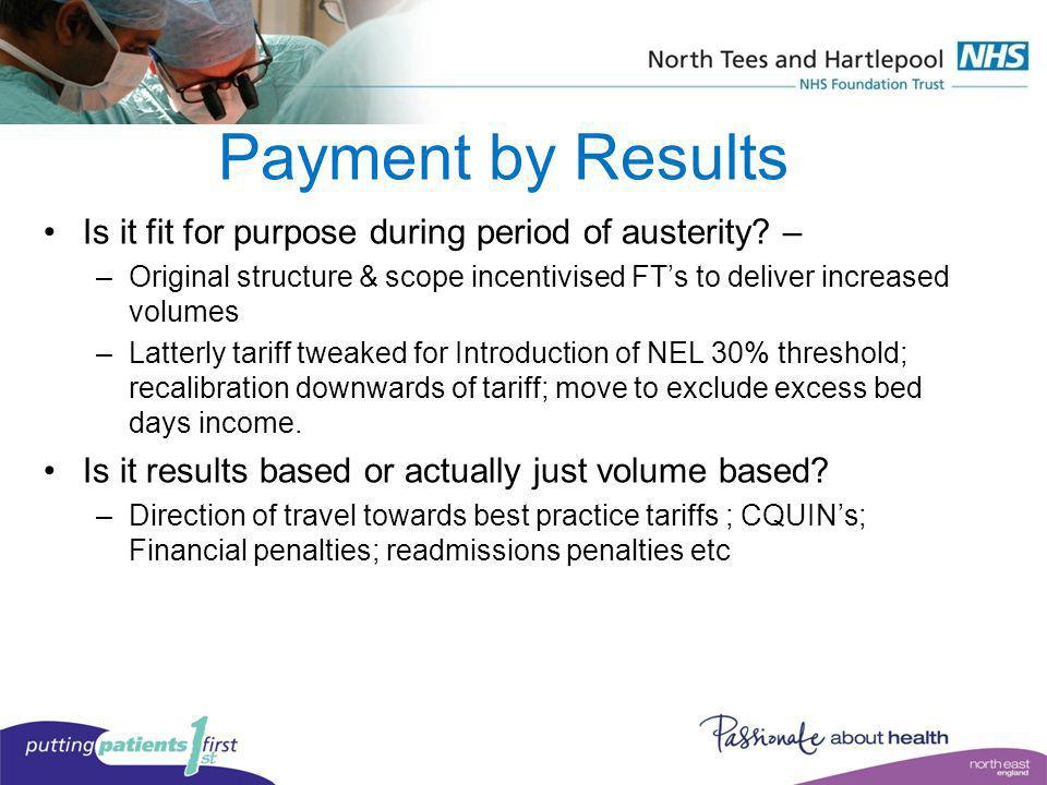 Payment by Results Is it fit for purpose during period of austerity –