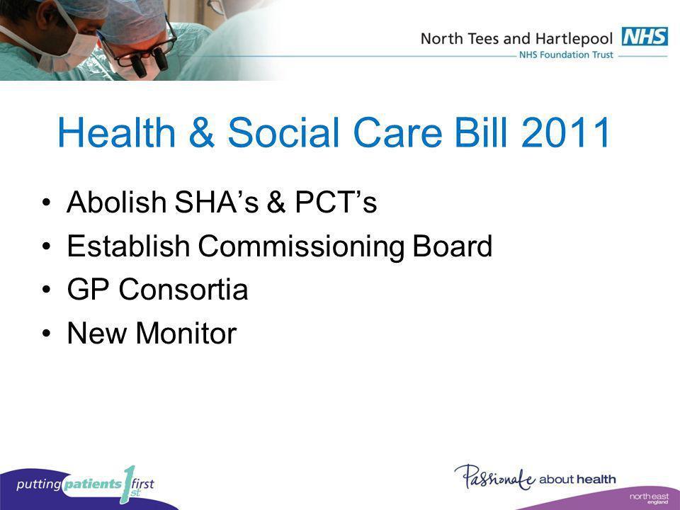 Health & Social Care Bill 2011