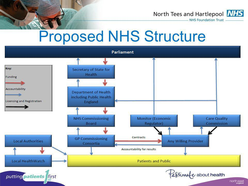 Proposed NHS Structure