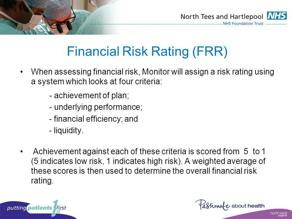 Financial Risk Rating (FRR)
