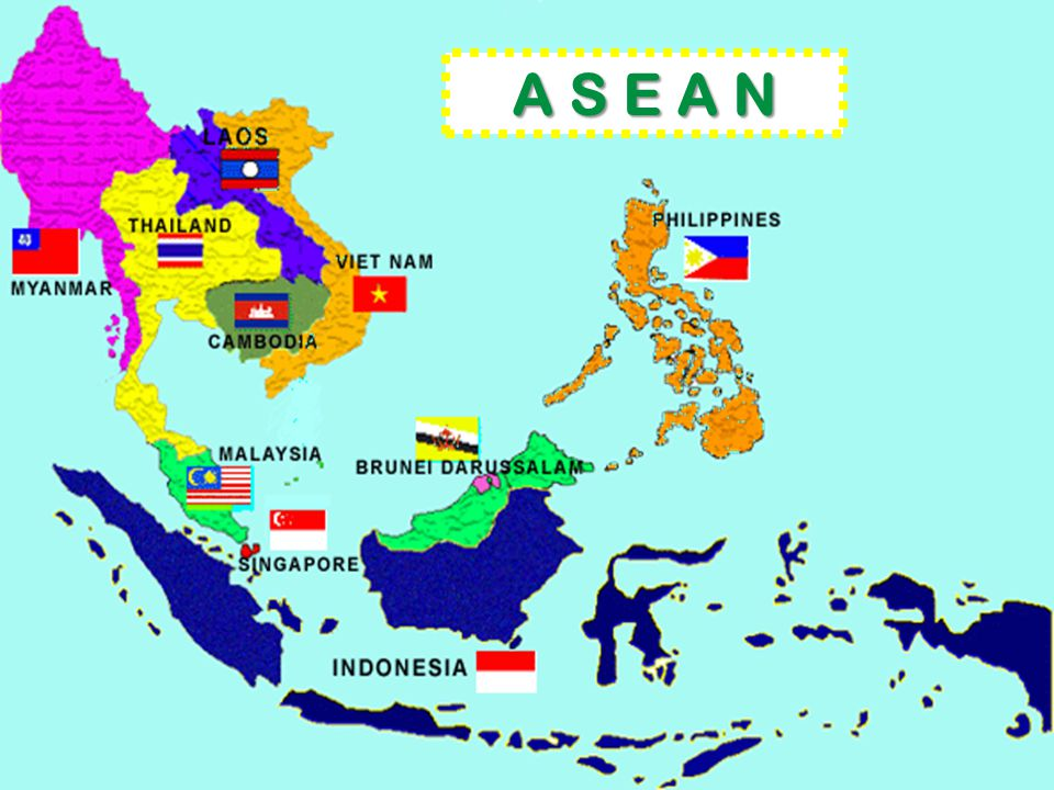 A S E A N ASEAN represents a market of 560 million consumers and a GDP of $1.1 trillion.