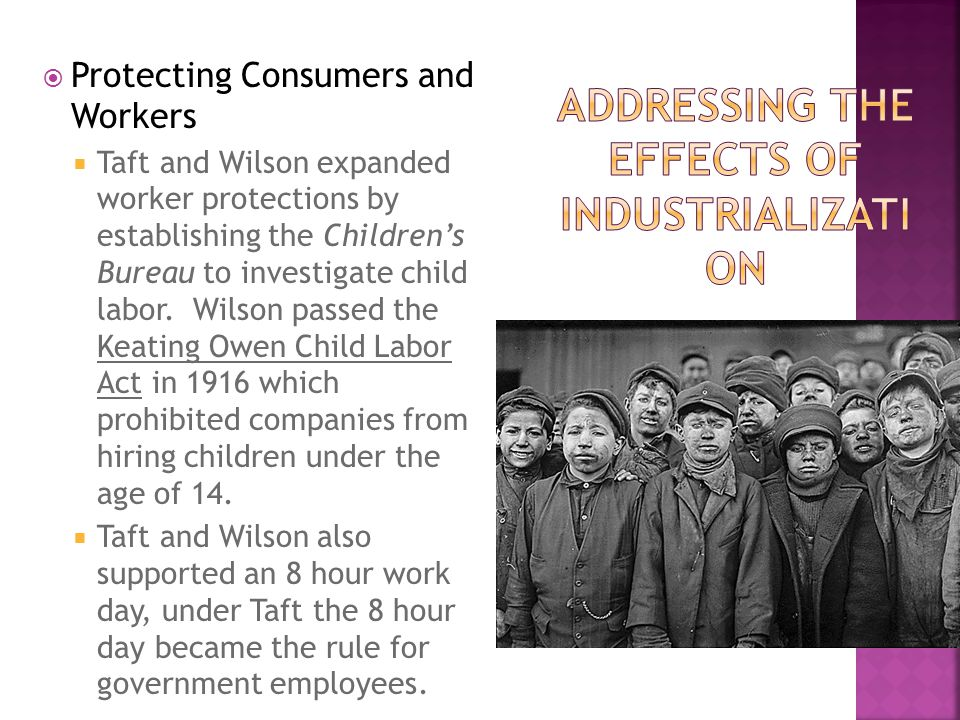 Addressing the Effects of Industrialization