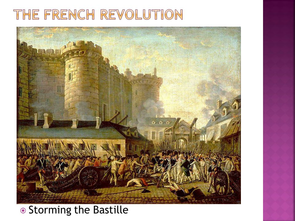 The French Revolution Storming the Bastille