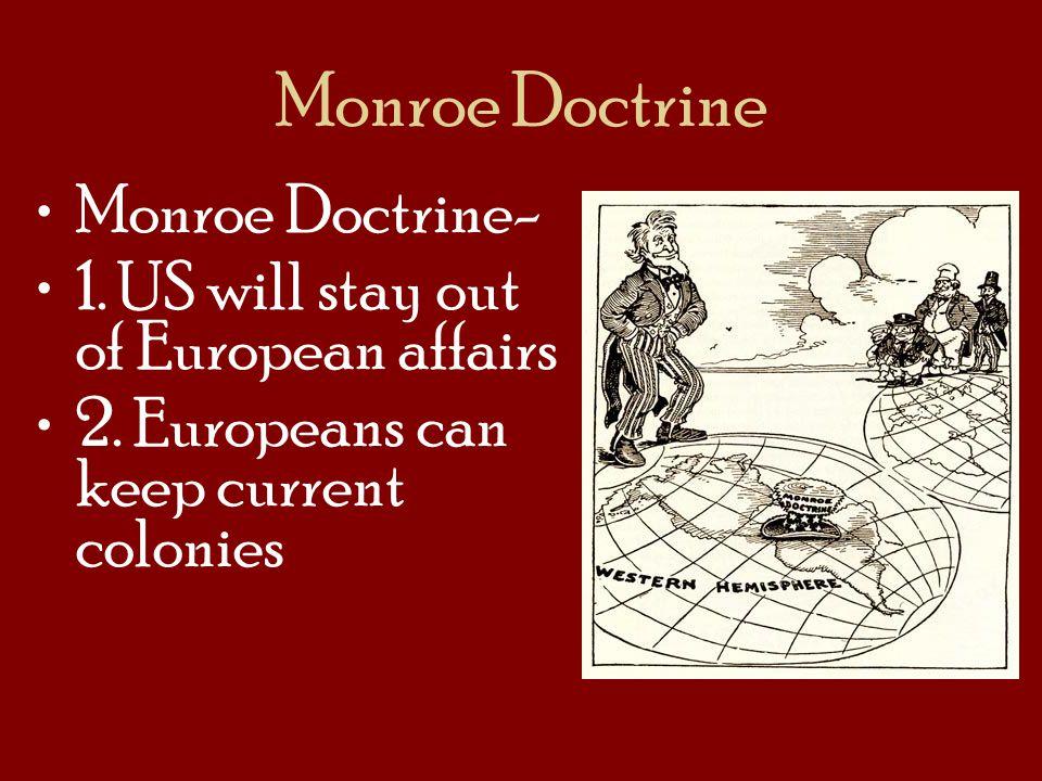 Monroe Doctrine Monroe Doctrine-