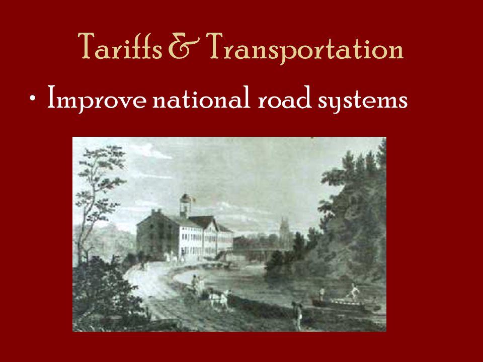 Tariffs & Transportation