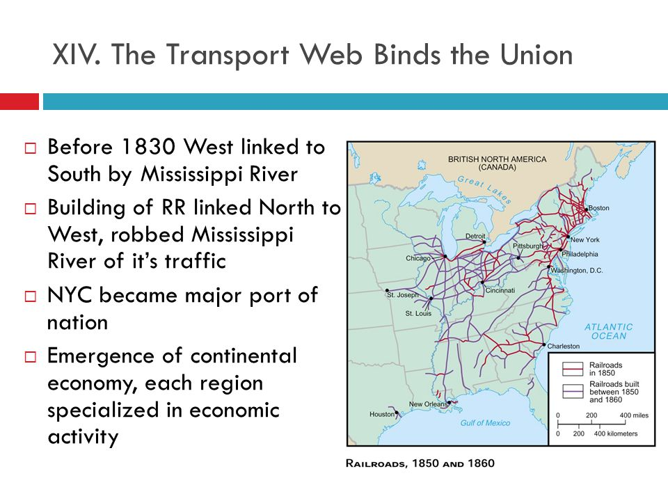 XIV. The Transport Web Binds the Union