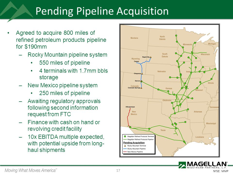 Pending Pipeline Acquisition