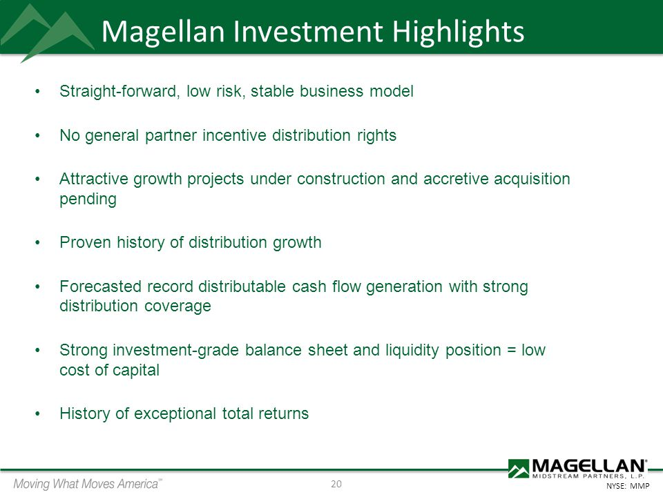 Magellan Investment Highlights