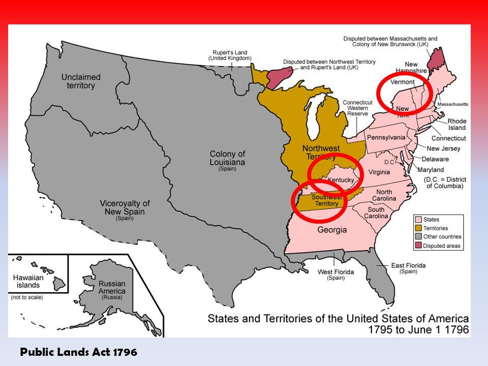 Public Lands Act 1796