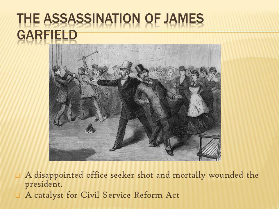 The Assassination of James Garfield