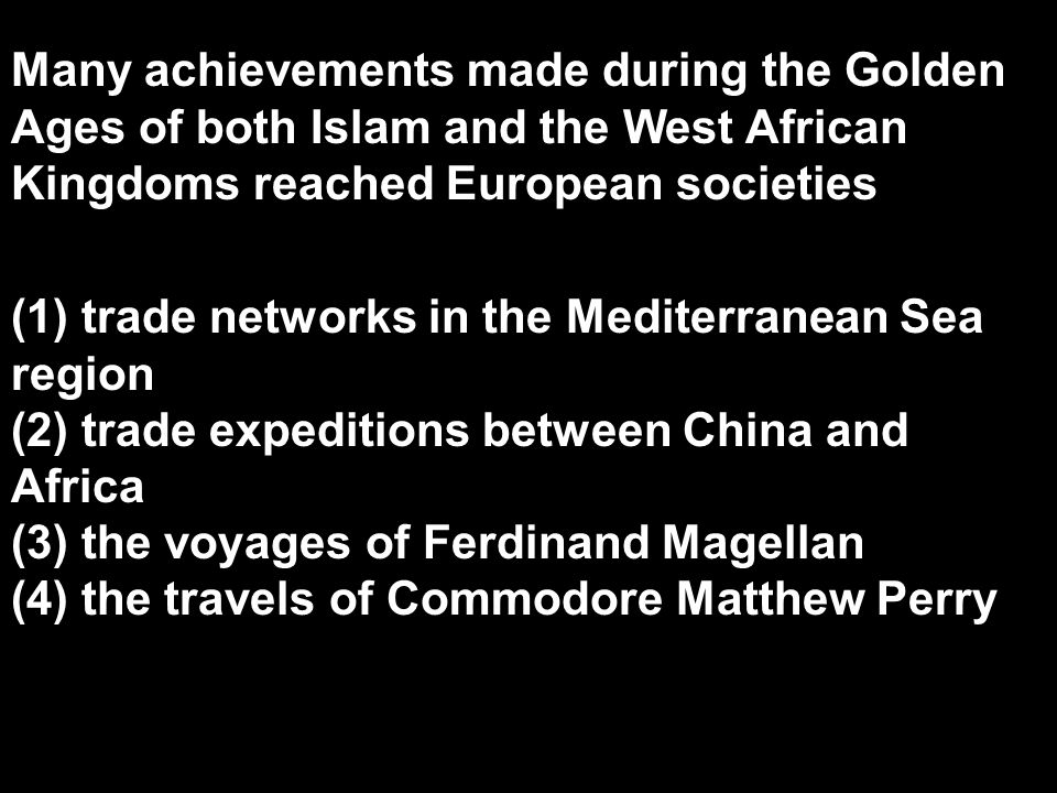Many achievements made during the Golden