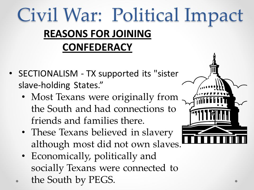 Civil War: Causes STATES' RIGHTS - ppt video online download