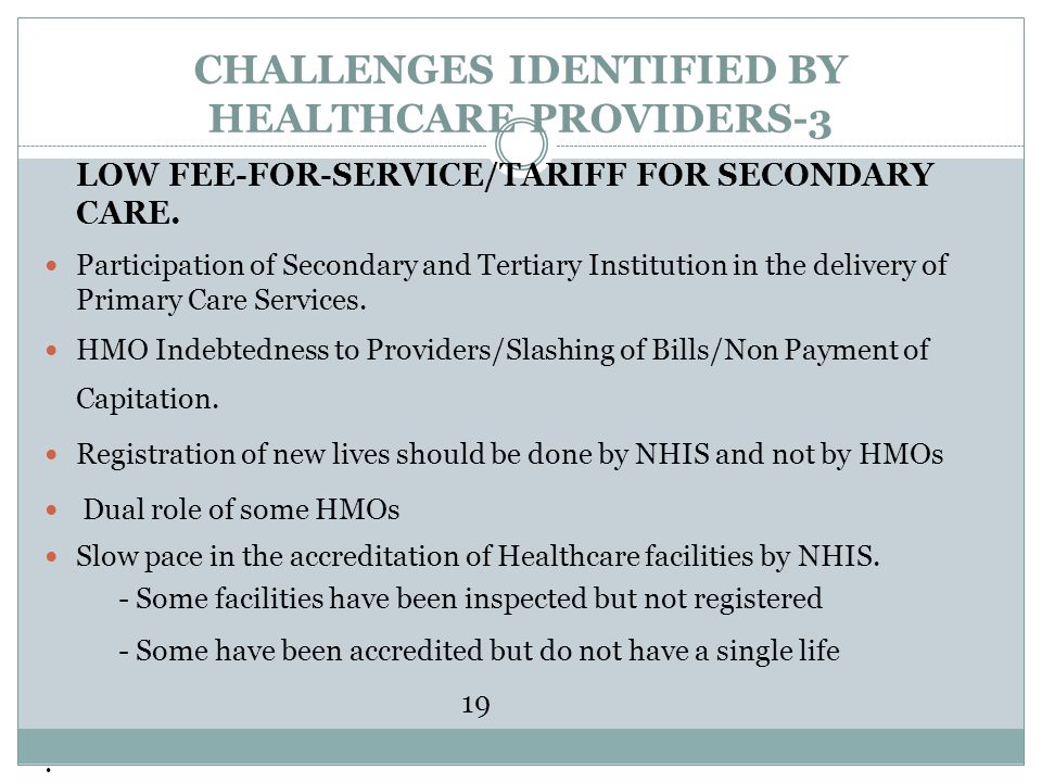 CHALLENGES IDENTIFIED BY HEALTHCARE PROVIDERS-3