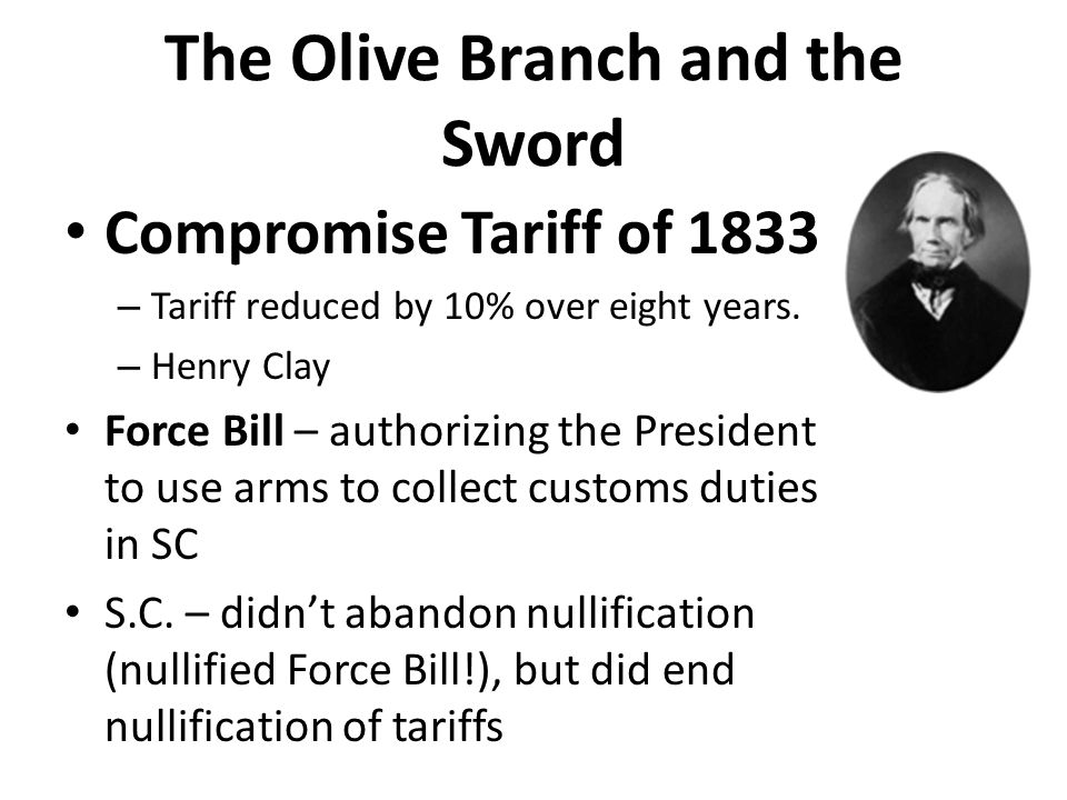 The Olive Branch and the Sword