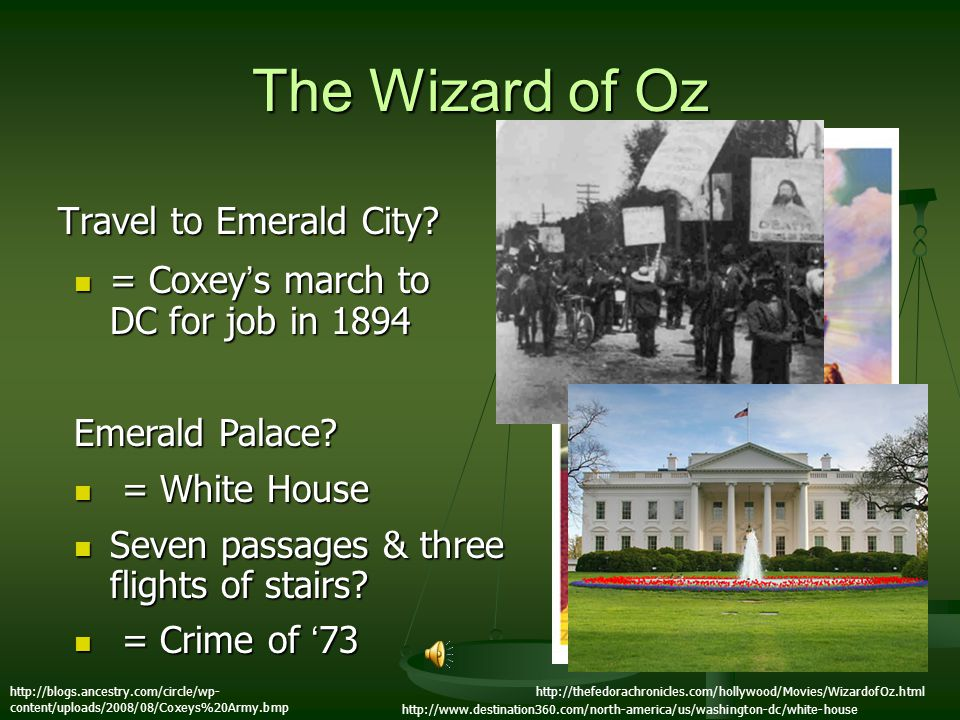 The Wizard of Oz Travel to Emerald City