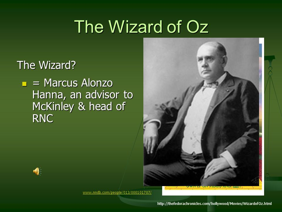 The Wizard of Oz The Wizard