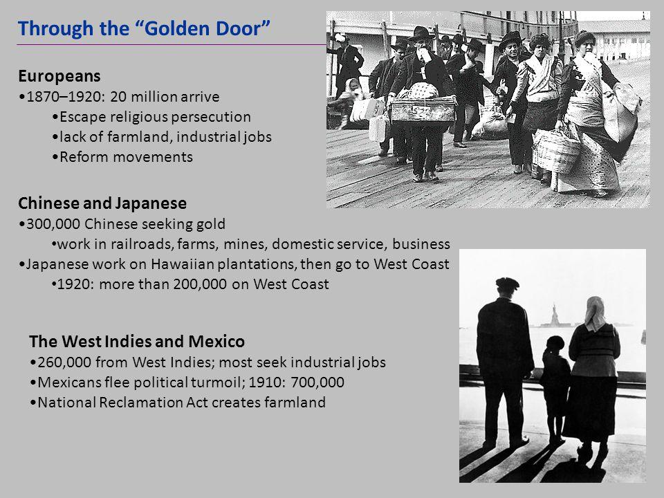 Through the Golden Door