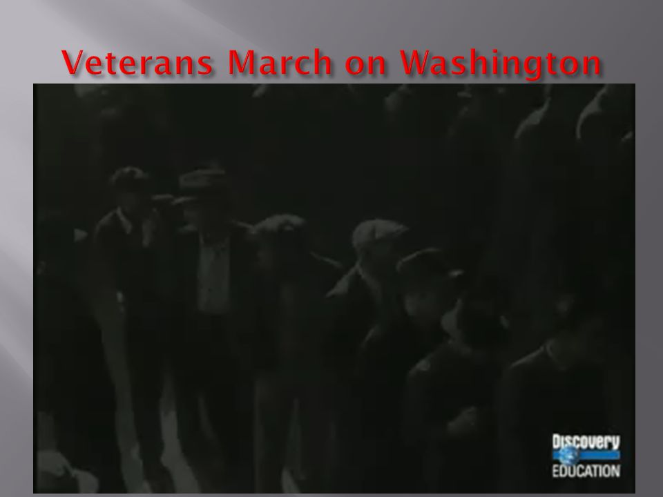 Veterans March on Washington