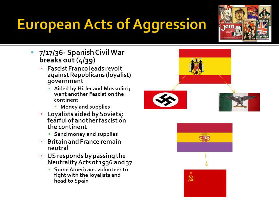 European Acts of Aggression