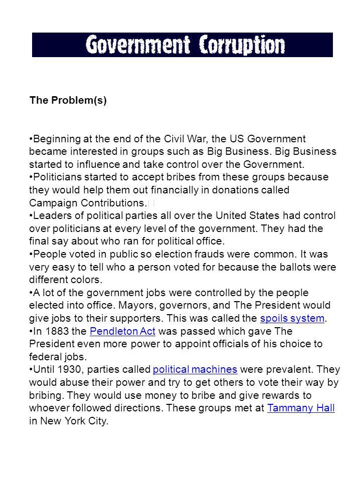 The Problem(s)